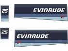 EVINRUDE 25 - Nalepnice za vanbrodski motor