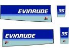 EVINRUDE 35 - Nalepnice za vanbrodski motor