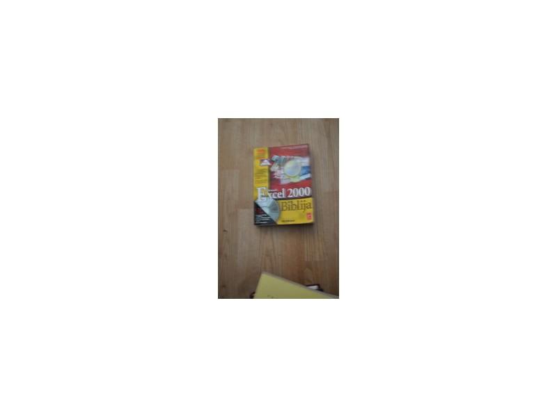 EXCEL 2000 Biblija bez CD rasprodato