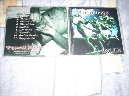 Edelweiss - Absolution CD