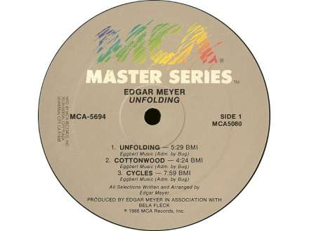 Edgar Meyer - Unfolding