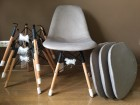 Eiffel stolice od vodootpornog platna, 4 komada - NOVO