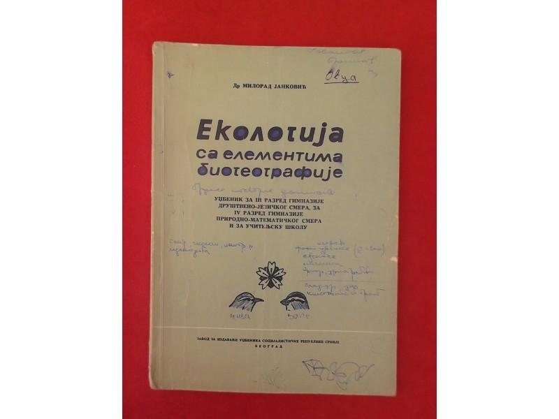 Ekologija  sa elementima  biogeografije