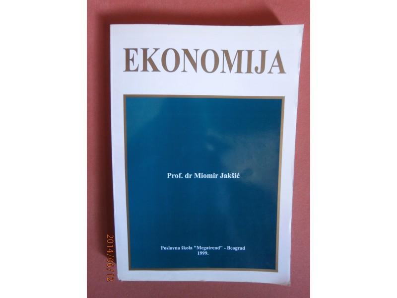 Ekonomija, Miomir Jaksic