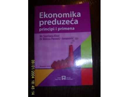 Ekonomika preduzeca principi i primena