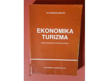 Ekonomika turizma, Dr Slobodan Unkovic