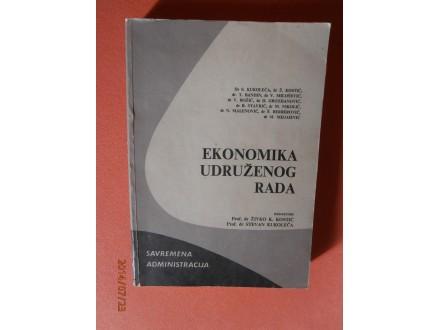 Ekonomika udruzenog rada, Grupa autora
