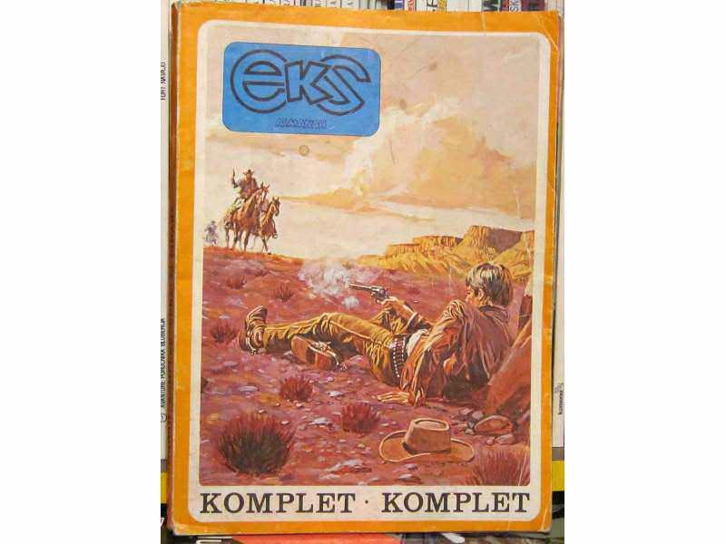 Eks almanah komplet brojevi 263,264,265 i 266