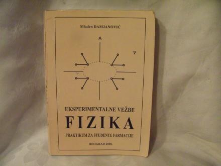 Eksperimentalne vežbe fizika Mladen Damjanović
