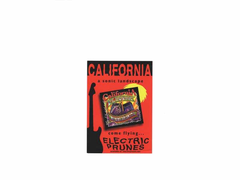Electric Prunes - promo razglednica  11 x 15,5 cm