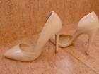 Elegantne bež cipele kao nove  POVOLJNO
