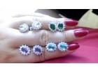 Elegantne mindjuse sa kristalom u bojama
