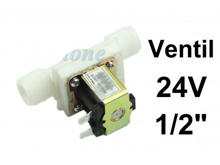 Elektromagnetni ventil - 8 bar - 24 V - 1/2 cola