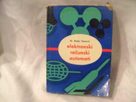 Elektronski računski automati, Rajko Tomović