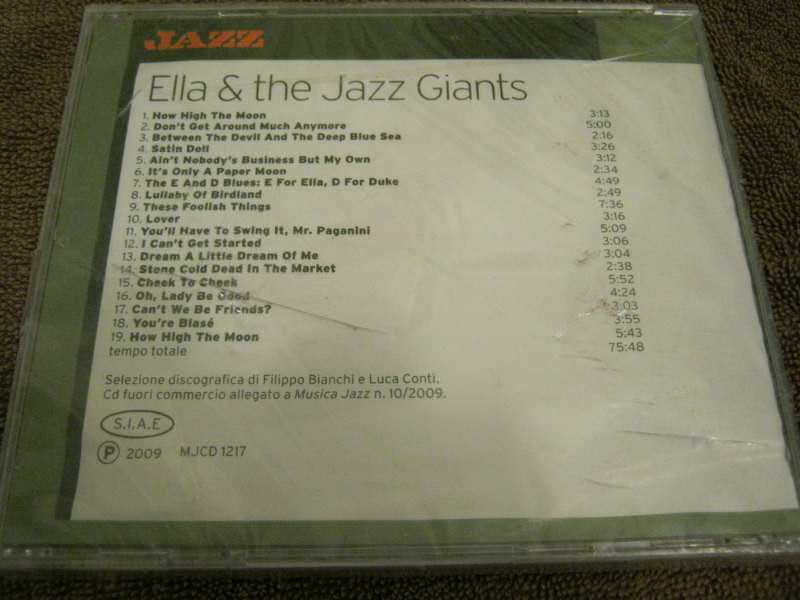 Ella Fitzgerald - Ella & the Jazz Giants