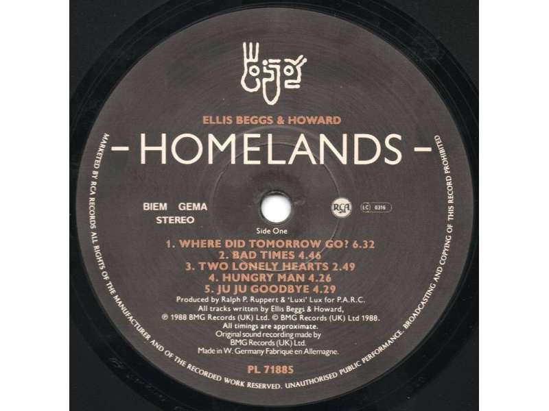Ellis, Beggs & Howard - Homelands