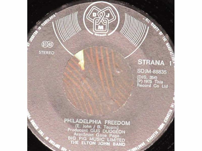 Elton John Band - Philadelphia Freedom / I Saw Her Standing There