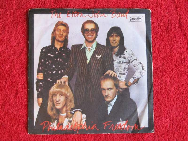 Elton John Band - Philadelphia Freedom / I Saw Her Standing There