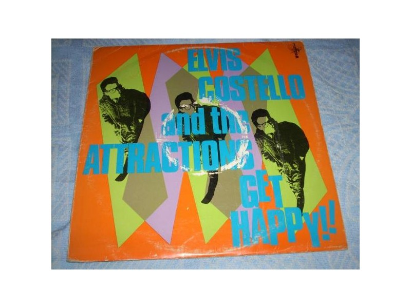 Elvis Costello And The Attractions ‎– Get Happy!! LP