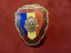 Emajl grudna znacka granicne vojske Rumunije