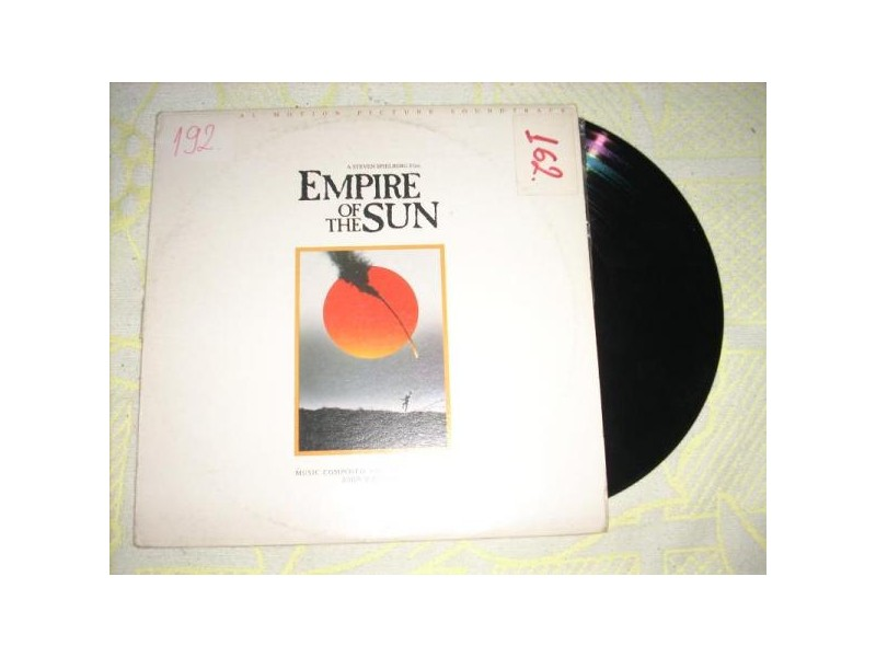 Empire Of The Sun-Original Motion Picture Soundtrack LP