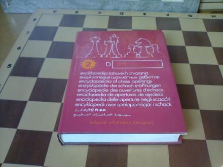 Enciklopedija sahovskih otvaranja TOM D (dvojka)