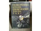 Enciklopedijska izdanja leksikografskog zavoda
