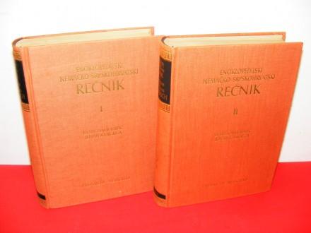 Enciklopedijski nemačko-srpskohrvatski rečnik 1-2