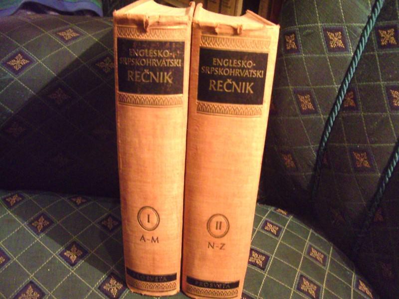 Enciklopediski englesko-srpskohrvatski I i II Ristić