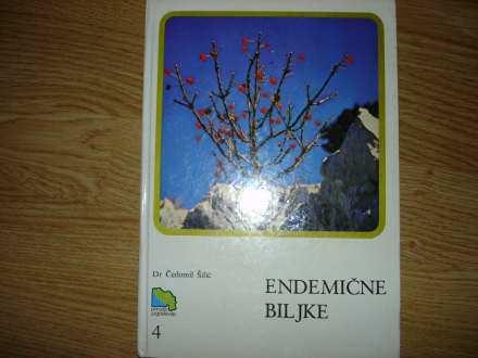 Endemicne biljke dr Cedomir Silic