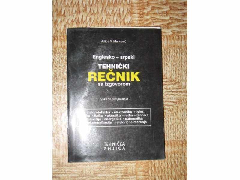 Engl-srp. TEHNICKI recnik-J.Markovic