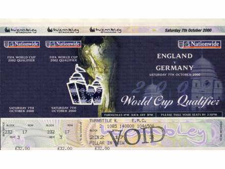 England - Germany   ,   2000.god.