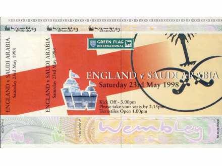 England - Saudi Arabia