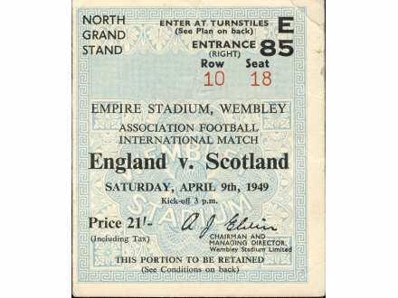 England - Scotland   ,   1949.god.