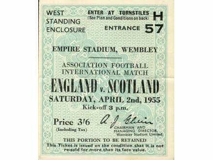England - Scotland   ,   1955.god.