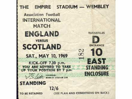 England - Scotland   ,   1969.god.