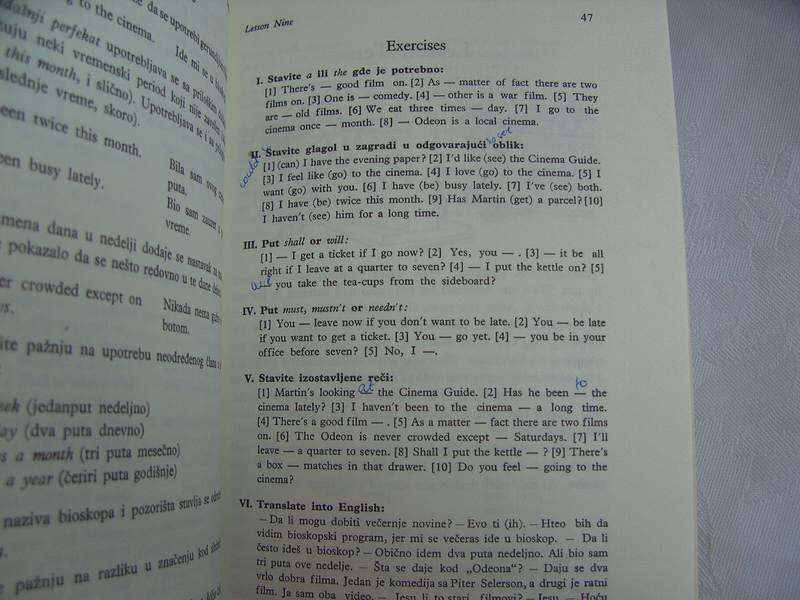 Engleski 1 i 2, Ljiljana Mihailović