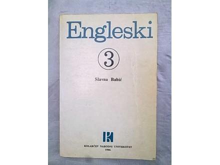 Engleski 3-Slavna Babic