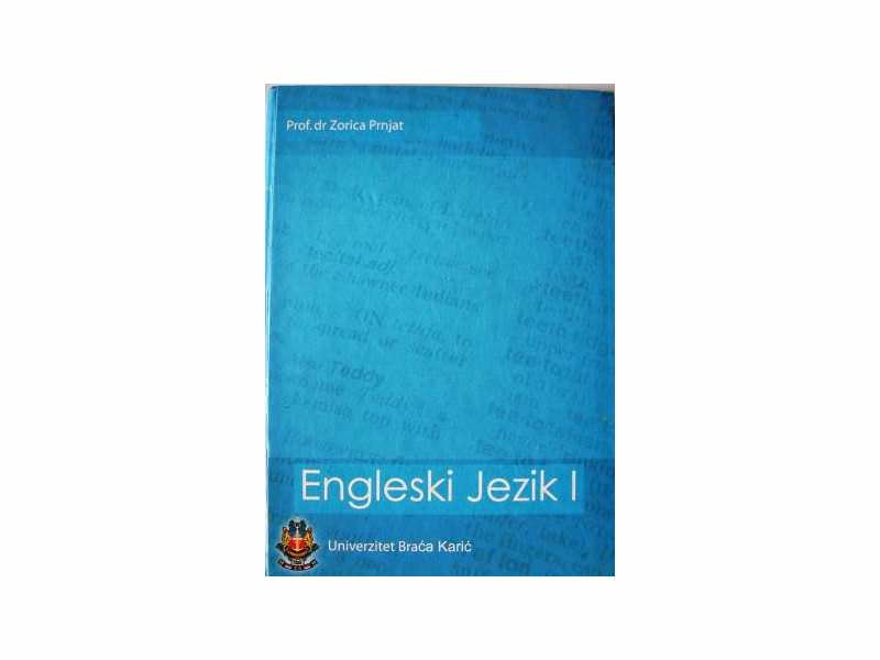 Engleski Jezik I - Prof.dr Zorica Prnjat