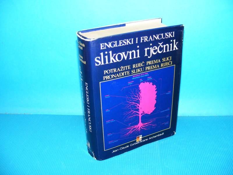 Engleski i francuski slikovni rječnik-besplatna dostava