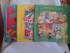 Engleski jezik Priroda Matematika za mališane 3 knjige
