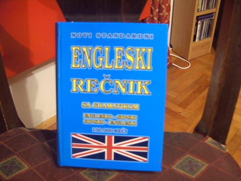 Engleski rečnik, novi standardni