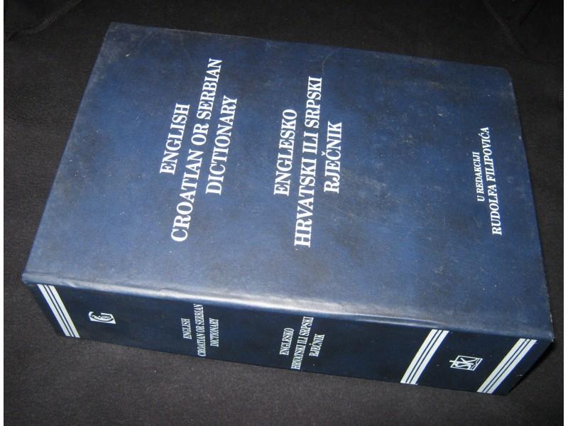 Englesko hrvatski ili srpski rječnik