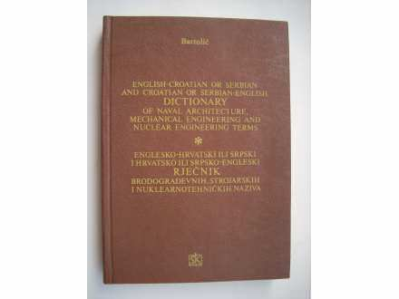 Englesko-hrvatski rječnik brodograđevnih naziva