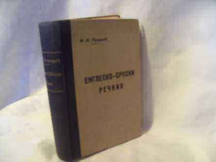 Englesko srpski rečnik, Ilija Petrović