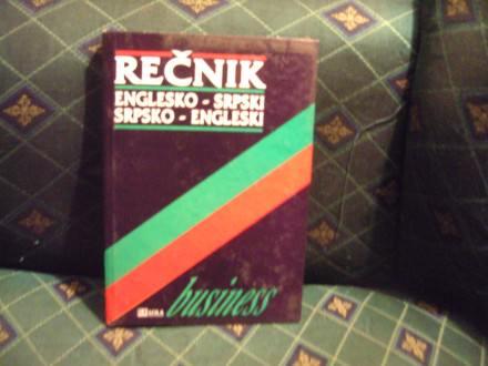 Englesko-srpski, srpsko-engleski, biznis rečnik