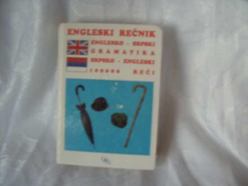 Englesko srpski srpsko engleski rečnik, sa gramatikom