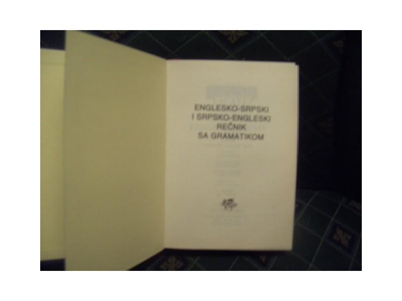Englesko-srpski srpsko-engleski sa gramatikom