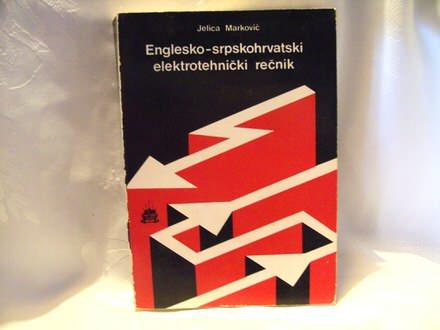 Englesko srpskohrvatski elektrotehnički rečnik