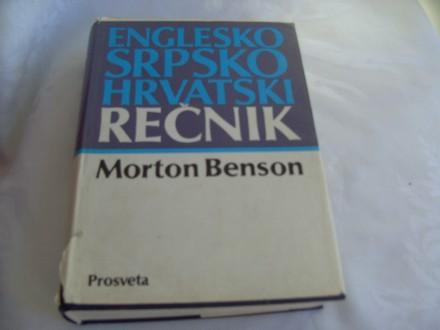Englesko srpskohrvatski rečnik  Morton Benson